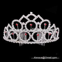 Páginaant tiara y corona al por mayor