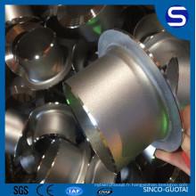 Extrémités de bout Jiont de soudure d'extrémité d'acier inoxydable d'ANSI / ASME B16.9 316L bout à bout