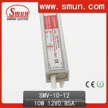 10W 12V Waterproof IP67 LED Driver Used for LED Strip