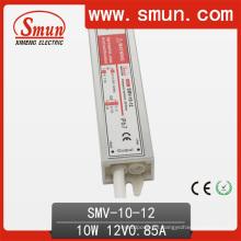 Motorista impermeável do diodo emissor de luz IP67 de 10W 12V usado para a tira do diodo emissor de luz