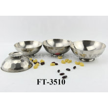 Stainless Steel Anti-Skidding Rice Bowl (FT-3510)