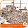Forneça o material de tecido da tampa da cama para fazer lençóis