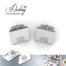 Destiny Jewellery Crystal From Swarovski Mr Matt 2 Cufflinks