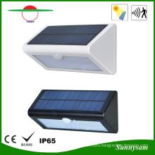 Sunnysam Solar LED Lighting Montion Sensor Wall Mounted Solar Lamp