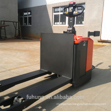 Ce certificate 3Ton walker platform Rider on powered Electric Pallet jack Truck with Platform ELEP-30D