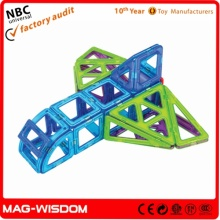 Assembled Magnetic Building Bricks