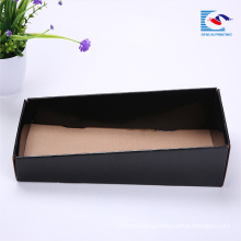 Wholesale custom small sample corrugated paper carton display box
