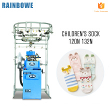 High speed automatic home use circular plain sock knitting machine germany for sale