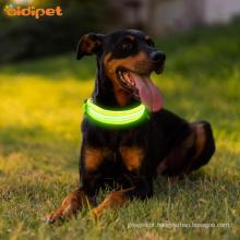 Noite segurança piscando brilho para cães
