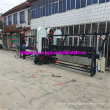 CNC Automatic Twin Vertical Saw High Frequency Wood Band Sawmill
