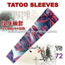 2016 best sell rose tattoo arm sleeve