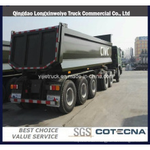 25cbm 3 Axles Self Tipping Semi Trailer