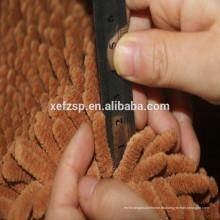 Estera absorbente de limpieza de la pata de perro de la estera del poliéster