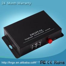 Made in China Fabrik Preis PCM Multiplexer, FC RJ11 Schnittstelle 2 Kanal Telefonleitung Konverter