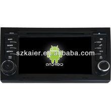 Lecteur DVD de voiture système Android pour Audi A4 avec GPS, Bluetooth, 3G, ipod, jeux, double zone, commande au volant