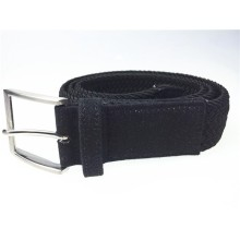 Belt manufacturer mens canvas belt knitted elastic belts
