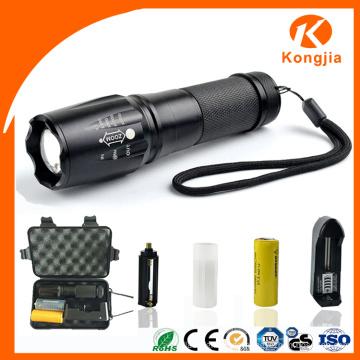 CREE Taschenlampe Selling 2000 Lumen Zoom Best Powerful Notfall Portable Fackel