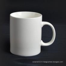 Tasse en porcelaine super blanc avec poignée - 14CD24361