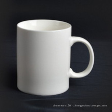 Супер белый фарфоровая кружка с ручкой - 14CD24361