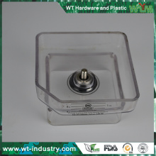 electrical motor holder clear plastic parts Chinese supplier