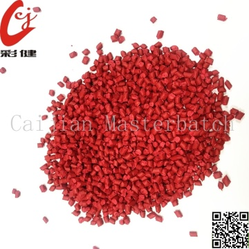 Red Blowing Bottle Masterbatch Granules