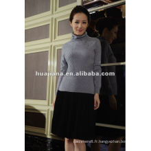 pull à tricoter 100% cachemire hiver femme