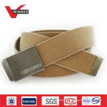 Belt fabricante lona algodão cintos