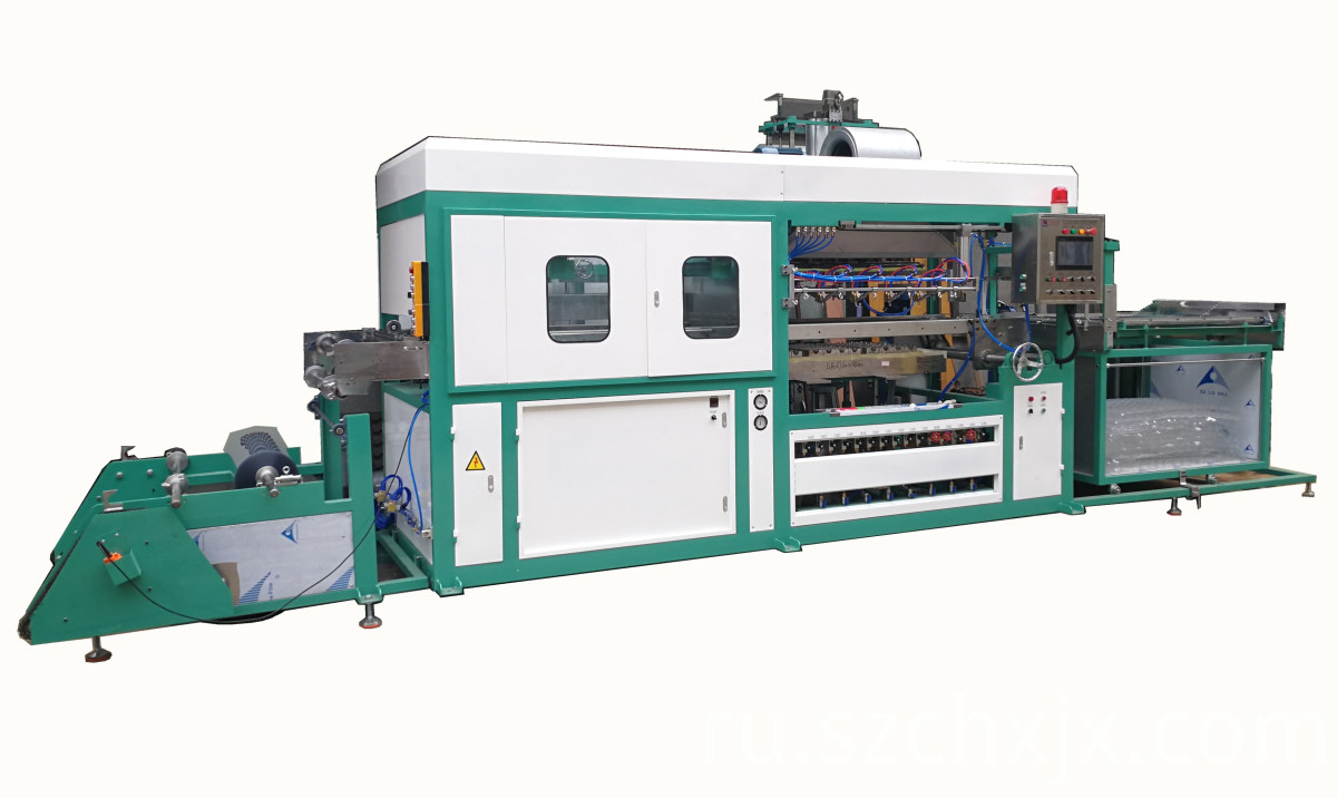 The advantages of automatic plastic products forming machine