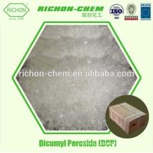 Pour le plastique et le caoutchouc 99% de peroxyde de dicumyle de haute pureté DCP