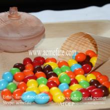 Schokolade überzogene Erdnuss-Snack-Süßigkeiten im niedrigen Preis