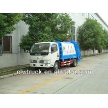4 toneladas caminhão compactador de lixo (Dongfeng)