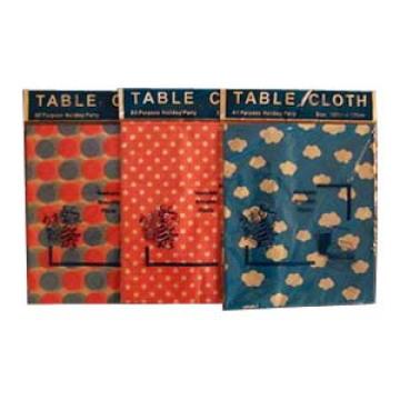 Mantel de PEVA, paño de tabla de PEVA, cubierta de la tabla de PEVA, cubierta de la tabla del vinilo