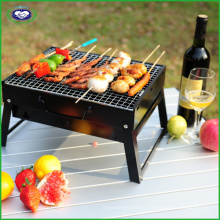 Outdoor Square Foldable Barbecue Grill BBQ