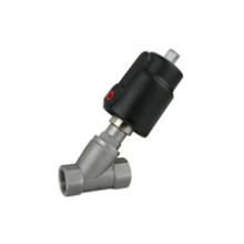 Válvula neumática sanitaria del asiento del ángulo (IFEC-SV100015)