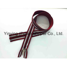 5# Long Nylon Zipper with Reflective Tape for Outdoor