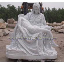 Garten Stein Carving Marmor Skulptur Religiöse Statue für Religion (SY-X1212)