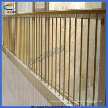 Балконный забор из цинковой стали высокого качества