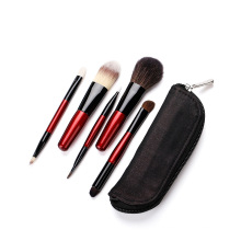 5pcs Travel makeup brushes set
