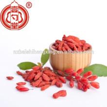 Bolsa de papel de aluminio embalaje de fruta super salud Ningxia Goji berry, exportación de Qi zi secada en el extranjero, bayas de Lycium