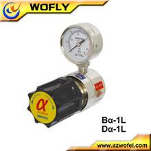 Regulador de presión de oxígeno de acero inoxidable