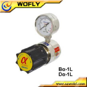 Régulateur de pression en argon en acier inoxydable