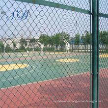 Precio de armadura de la cerca del acoplamiento de cadena para el campo de deportes