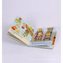 Kundengebundenes China-Hersteller-Druckkinderbrett-Buch