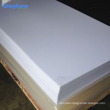 Decoration thin plastic sheet for laser print guangzhou acrylic products