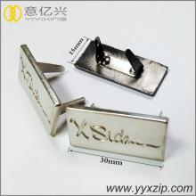 перламутровый никель персонализированный гравированный металлический ярлык