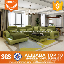 SUMENG American tissu de revêtement de canapé vert design