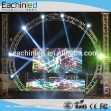 DJ-Kabine, Nachtclub LED-Bildschirm Indoor Super Slim LED-Bildschirm P4