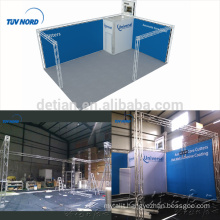 Detian offer aluminum truss exhibition booth trade show display rack