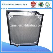 Radiateur en aluminium pour camion Auman 0010 pièce détachée