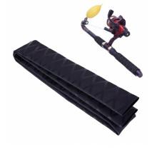 Bâton de hockey de bâton de rétrécissement de la glissière 15mm de bâton de hockey de couverture noire